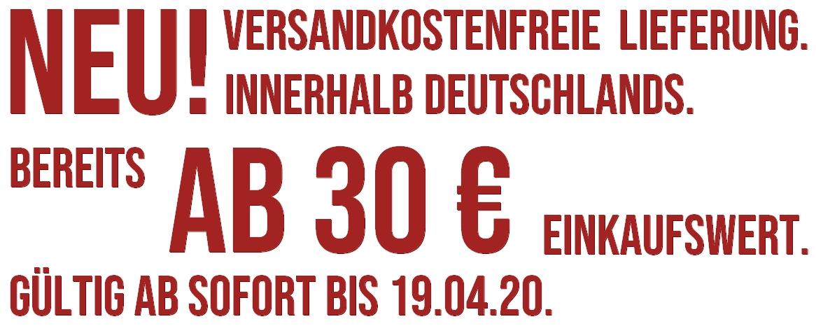 Versandkostenfrei ab 30,-€
